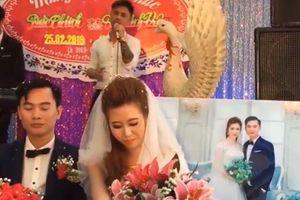 Phản ứng bất ngờ của cô dâu khi được người yêu cũ hát tặng 'Tiễn em theo chồng'