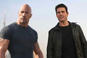 Dwayne Johnson và Tom Cruise mong muốn hợp tác cùng nhau trong các dự án phim hành động