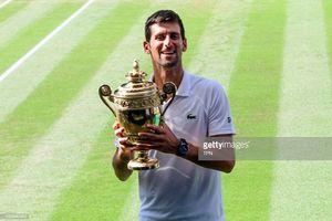 Hạ đẹp Anderson, Djokovic lên ngôi vô địch Wimbledon
