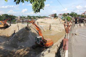 Thái Nguyên: Hạ lưu sông Công bị 'bóp nghẹt'