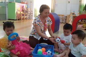 Nhiều trường mầm non nhận giữ trẻ từ 6 tháng tuổi