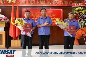 VKSND cấp cao 3 trao quyết định điều động, bổ nhiệm chức vụ lãnh đạo cấp Viện