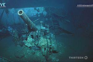Dùng thiết bị không người lái lặn 6000 m khám phá chiến hạm bị đánh chìm