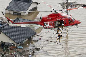 Lũ lụt, nắng nóng trên diện rộng ở Nhật Bản tiếp tục đẩy cao số người thiệt mạng