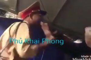 Công an Đắk Lắk lên tiếng sau clip CSGT đánh người khi bị yêu cầu chào