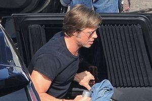 Brad Pitt lấy lại vẻ phong độ và điển trai trên trường quay phim mới