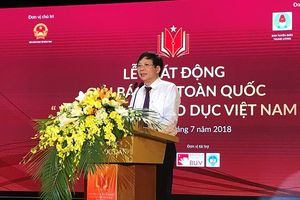 Phát động Giải báo chí 'Vì sự nghiệp giáo dục Việt Nam' lần đầu tiên
