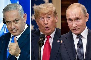 Thủ tướng Israel 'biết ơn' ông Trump và Putin sau hội nghị thượng đỉnh Helsinki