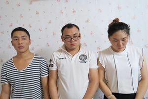Bắt nhóm đối tượng người Trung Quốc lừa đảo chiếm đoạt tài sản
