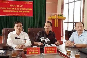 Vụ nâng điểm hơn 330 bài thi ở Hà Giang: Đã đủ điều kiện khởi tố vụ án?