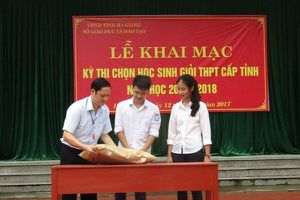 Vụ gian lận điểm thi ở Hà Giang: Bất thường việc ông Vũ Trọng Lương vẫn đi làm bình thường
