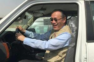 Vị đại sứ chinh phục trái tim người Iraq