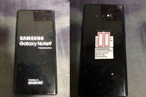 Samsung Galaxy Note 9 lộ hình ảnh thực tế