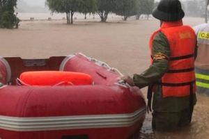 Quảng Ninh: Lũ dâng cao, huyện Ba Chẽ bị chia cắt