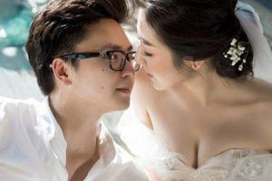 Á hậu Tú Anh khoe ngực đầy trong bộ ảnh cưới đẹp như mơ với chú rể điển trai