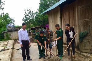 Xây nhà tình nghĩa tặng các gia đình khó khăn ở biên giới Đắk Lắk