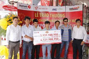 Chơi 'Bao' – tăng cơ hội trúng giải tiền tỷ Jackpot Vietlott