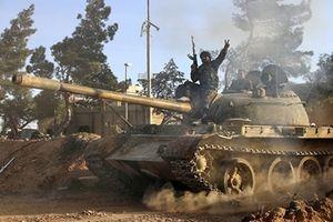 Toàn bộ phiến quân ở biên giới Syria- Israel buông súng xin hàng