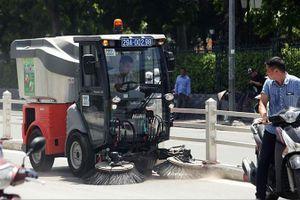 Xe quét rác hơn 1 tỷ đồng: Vì sao hoạt động không hiệu quả?