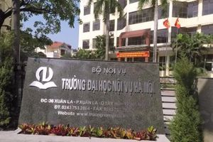 Trường Đại học Nội vụ Hà Nội công bố ngưỡng điểm nhận hồ sơ năm 2018