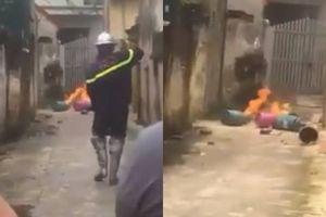 Điều tra vụ con rể mang bình gas đến nhà bố vợ châm lửa đốt