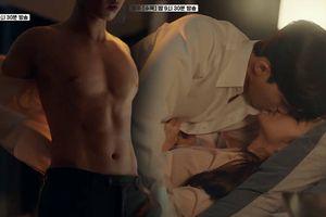 'Bỏng mắt' với 2 phút cởi áo khoe 6 múi của Phó Chủ tịch Lee và cảnh giường chiếu cùng Thư ký Kim ở tập 13