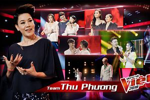 Hóa ra 'người chị' Thu Phương cực thích mashup, cho học trò hát cả hit Sơn Tùng, Hoàng Thùy Linh thế này