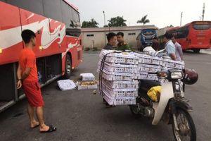 Hà Tĩnh: Bắt giữ vụ vận chuyển gần 2000 con gà giống không rõ nguồn gốc