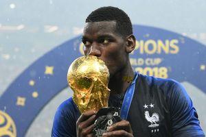 Paul Pogba nhận lời khen ngợi từ Mourinho sau chức vô địch World Cup