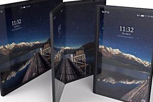 Samsung sắp ra smartphone màn hình gập?