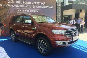 Nhanh hơn Toyota Fortuner, Ford Everest 2018 đã về Việt Nam