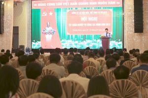 Bộ trưởng Nguyễn Ngọc Thiện chỉ đạo hội nghị tập huấn công tác Đảng năm 2018