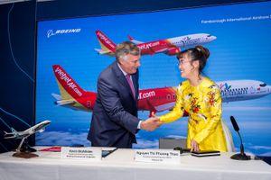 Cú vung tay trị giá gần 13 tỷ 'đô' của nữ đại gia Vietjet Air