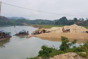 Phú Thọ: Nhiều bến bãi tập kết vật liệu không phép