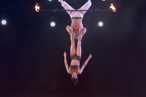 Cú rơi 'thót tim' của thí sinh America's Got Talent