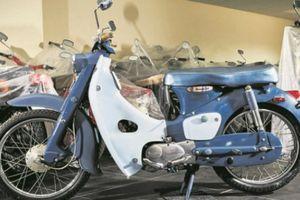 Honda Cub C100 ngoài 50 năm vẫn đẹp chim sa cá lặn
