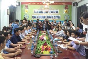Kết luận nghi vấn điểm thi tại Lạng Sơn: 8 bài bị hạ điểm nhưng 'không bất thường'