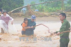 7 người bị mất tích, nhiều xã bị chia cắt, cô lập do mưa lũ tại Văn Chấn, Yên Bái
