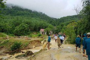 Thanh Hóa: Chia sẻ nỗi đau nơi gia đình có 4 người chết và mất tích do mưa lũ