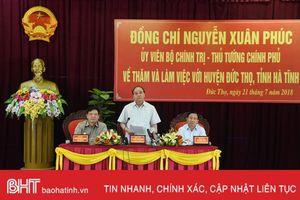 Thủ tướng Nguyễn Xuân Phúc: Hà Tĩnh có cách làm sáng tạo trong xây dựng NTM