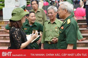 Xúc động ngày về Đồng Lộc của cựu binh Trung đoàn Pháo cao xạ