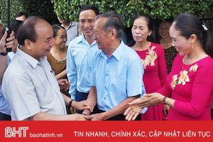 Thủ tướng khen Hà Tĩnh sáng tạo trong xây dựng khu dân cư mẫu, vườn mẫu
