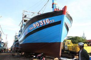 Tiếp tục hỗ trợ đóng mới thêm 30 tàu cá công suất lớn