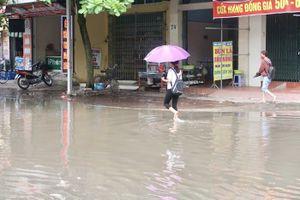 TP. Hải Dương: Ngập úng sau mưa lớn kéo dài