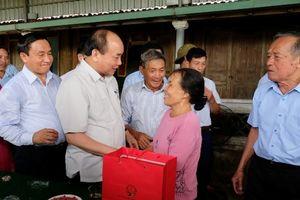 Thủ tướng thăm mô hình nông thôn mới tại Hà Tĩnh