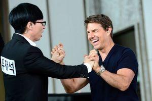 Tom Cruise gây xôn xao khi xuất hiện trong Running Man