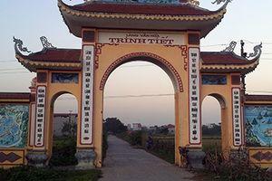 Độc đáo làng Trinh Tiết
