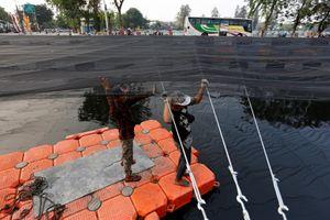Jakarta 'giấu' con sông ô nhiễm gần làng ASIAD 18