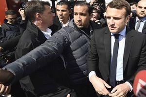 Tổng thống Pháp gặp rắc rối lớn vì vệ sĩ hành hung người biểu tình