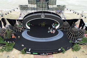 Sân khấu ngoài trời hoành tráng Chung khảo phía Bắc HHVN trước 'giờ G'